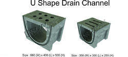 U SHAPE DRAIN CHANNEL