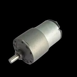 24v DC Gear, Geared Offside Motor 75 rpm High Torque - Side Shaft