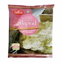 Light Yellow Salty Masala Papad, Salt