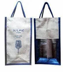 Promotional Jute Wine Bag