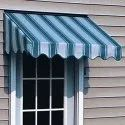 Stripped Window Awning Shed, For For Window