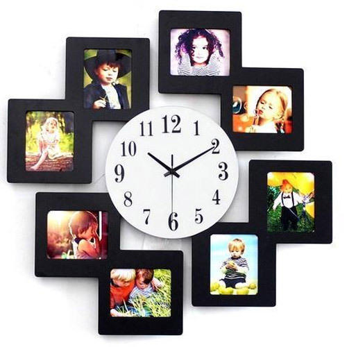 Fancy Photo Frame Clock at Rs 450 /piece | Photo Frame Clock | ID ...