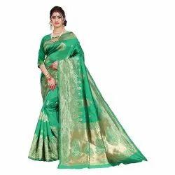 Banarasi Silk Saree With Latkan