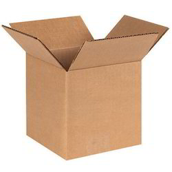 Cardboard Square Corrugated Boxes for Household, Capacity: 1kg - 100kg