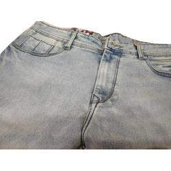 Mens Faded Denim Jeans, Waist Size: 32 And 38