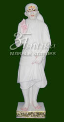 Marble Sai Baba Standing Statue