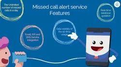 Missed Calls Alert Service, Communication Language: English, Hindi
