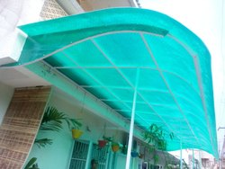 Green PVC Domestic House Hold Sheds
