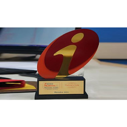 Bank Event Acrylic Trophy