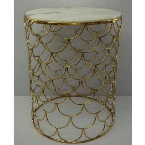 Brass Round Coffee Table For Home Size 3 5 Feet Height Rs