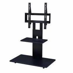 Black Plastic TV Stand