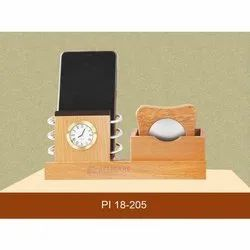 Wooden Office Table Top Stand