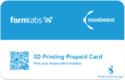 3D Printed Card - Plastic PVC