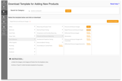 Bulk Upload (Import & Export) with Readymade Templates