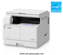 Canon IR 2206N  With Duplex, Platencover & Toner