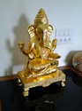 24 Carat Gold Plated Ganesha