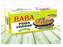 Baba Pizza Cheese, Packaging Type: Packet