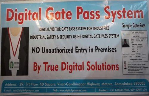 Visitors Gate Pass Management Services