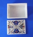 White Stone Jewellery Box