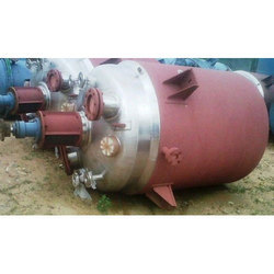 Stainless Steel Reaction Vessel, Capacity: 500l