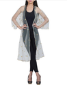 Of White Designer Indowestern Jacket