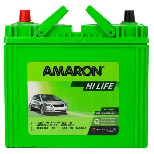 Amaron Car Battery Price In India