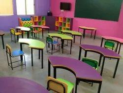 ELORA Multicolor Play School Furniture