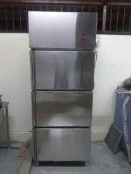 three Door Vertical Deep Freezer