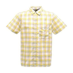 Regatta Yellow breckenridge shirt men's bright yellow