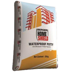 Berger Waterproof Putty, Packing Size: 40 Kg