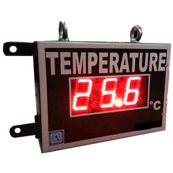Large Temperature Display