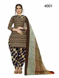 Designer Unstitched Dress Material