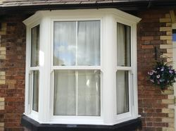UPVC Sash Bay Window