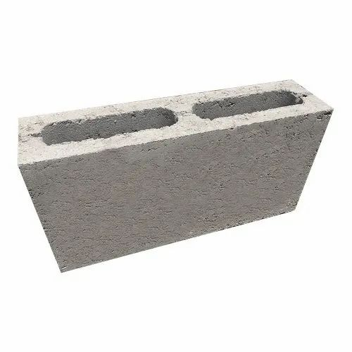 Hollow Concrete Blocks, Size: 400x200x100mm
