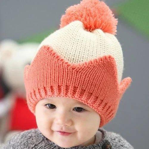 00e75572f81 Unisex Wool Baby En Cap