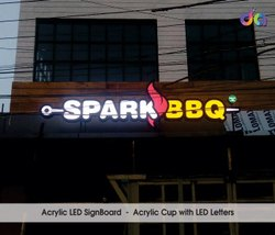 LED Letter Sign Board, For Advertising, for Commercial