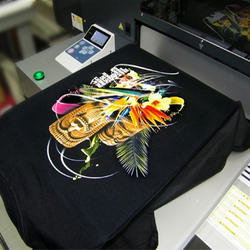 Direct Printing on Garments