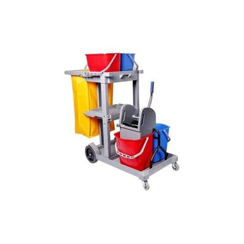 Multifunction Janitor Cart Cleaning Trolley,  for Hotels