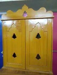 Designer Pooja Cupboard Works
