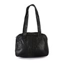 Hawai Black Genuine Leather Shoulder Bag For Women