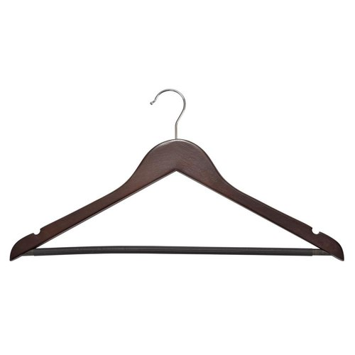 Brown for Hanging Clothes Wooden Suit Hanger