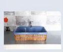 Koalar Ceramic Square Wash Basin For Bathroom
