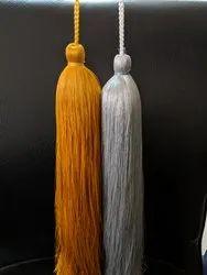 Silk craft tassel