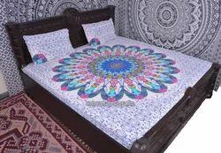 Flower Mandala Print Duvet Cover