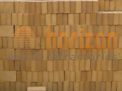 Rectangular Refractory Material High Alumina Refractory Brick, Packaging Type: Wooden Pallet Packing