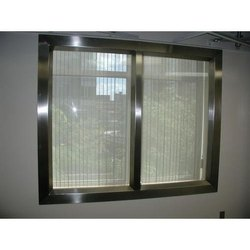 Stainless Steel Residential Window