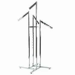 4 Way Garment Display Stand