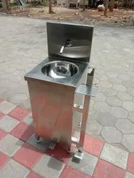Foot-operated Hand Wash Sink