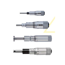 Micrometer Heads with Rotating Spindle