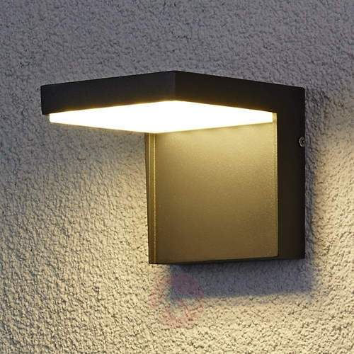 Aluminum 20 W Led Outdoor Wall Light, Outdoor Wall Downlights Led